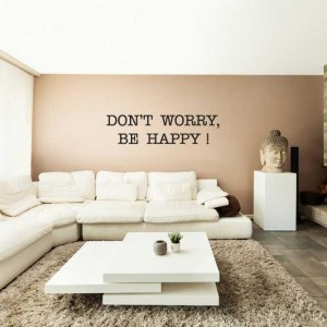 Krisko - Woonkamer - Don't worry, be happy