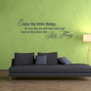 Krisko - Woonkamer - Enjoy the little things