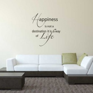 Krisko - Woonkamer - Happiness is not a destination