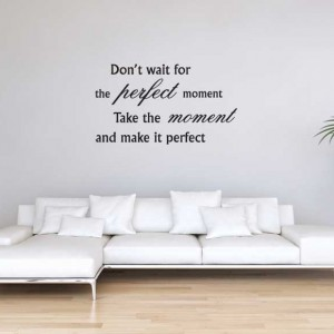 Krisko - Woonkamer - Don't wait for the perfect